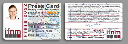 Renew Your Ifnm And Membership Card Press